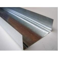 Профіль метал. для гіпсокартону Укр UW 100 3м (0,4)