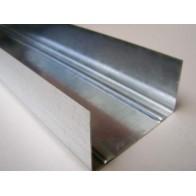 Профіль метал. для гіпсокартону Укр UW 75 3м (0,4)