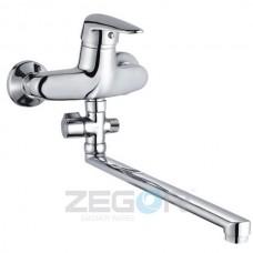 Смеситель для ванны ZEGOR Z63-ECT-A170