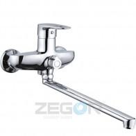 Змішувач для ванни ZEGOR Z63-NGB-A185