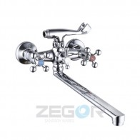 Змішувач для ванни ZEGOR T63-D4Q-A756