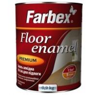 Емаль для підлоги  Фарбекс ПФ-266 0,9 кг жовто-коричнева