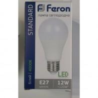 LED лампа Feron LB-712 12W E27 4000K