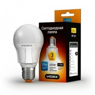 LED лампа VIDEX A60 13W E27 4100K 220V