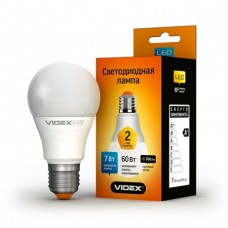 LED лампа VIDEX A60e 7W E27 4100K 220V