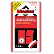 Клей для армування теплоізоляції Мастер-Супер (25 кг)