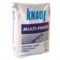 """Knauf """"Мульти-фініш"""" шпаклівка 25 кг"""