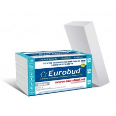 Пінопласт ПСБ - С - 15 ( 3 см ) EUROBUD Silver ( 0.3 м.куб . )