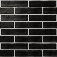 Плитка обл. The Strand черный 25х6 (08С020) ( кв.м)
