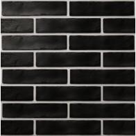 Плитка обл. The Strand чорний 25х6 (08С020) ( кв.м)