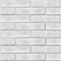 Плитка обл. The Strand білий 25х6 (080020) ( кв.м)