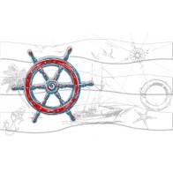 Декор Ocean колесо (М40311)  25*40 ( 1 шт.)