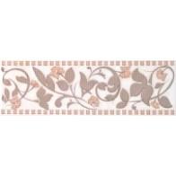 Фріз Avrora беж квітка 8х25 (1 шт.)