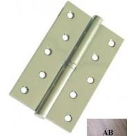 """Дверні петлі роз'ємні сталеві USK 5""""х3""""х2.5-1BB ліві (AB)"""