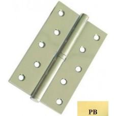 """Дверні петлі роз'ємні сталеві USK 5""""х3""""х2.5-1BB ліві (PB)"""