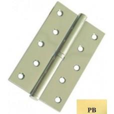 """Дверні петлі роз'ємні сталеві USK 5""""х3""""х2.5-1BB праві (PB)"""