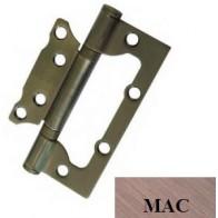 "Дверные петли универсальные накладные USK 4""х3""х2.5-2BB (38 мм) (МАС)"