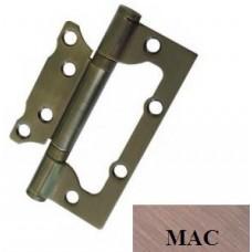 "Дверні петлі універсальні накладні USK 4""х3""х2.5-2BB (38 мм) (МАС)"