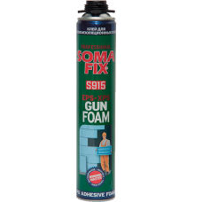 Піна-клей монтажна професійна SomaFix для теплоізоляційних плит