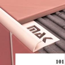 Вугли для плитки Cezar № 101 (7 мм, 2,5 м., білий, зовнішній)
