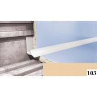 Вугли для плитки Cezar №103 (9 мм, 2,5 м., бежевий, внутрішній)