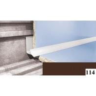 Вугли для плитки Cezar №114 (9 мм, 2,5 м., темно-коричневий, внутрішній)