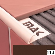 Вугли для плитки Cezar № 114 (9 мм, 2,5 м., темно-коричневий, зовнішній)