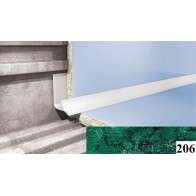 Уголки для кафельной плитки Cezar №206 (9 мм, 2,5 м., зеленый, внутренний)