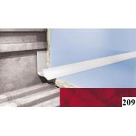 Вугли для плитки Cezar №209 (9 мм, 2,5 м., червоний, внутрішній)