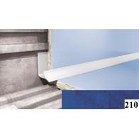 Вугли для плитки Cezar №210 (9 мм, 2,5 м., темно-блакитний, внутрішній)