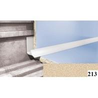 Вугли для плитки Cezar №213 (9 мм, 2,5 м., пісочно-бежевий, внутрішній)