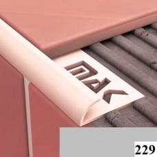 Вугли для плитки Cezar № 229 (9 мм, 2,5 м., сірий, зовнішній)
