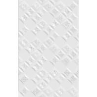 Декор Relax  Aura білий ( 490401 ) 25*40 (1шт.)