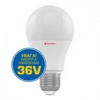 LED лампа 10W холодне світло А60 Е27 36V 4000К A-LS-0758