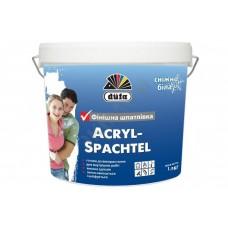 Dufa Acryl-Spachtel (Дюфа Акрил-Шпатель) Готова до використання білосніжна шпаклівка 1,5 кг