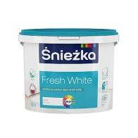 Краска Sniezka Fresh White  (10л)