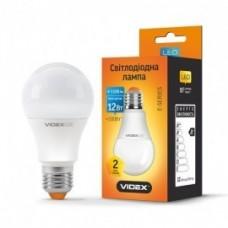 LED лампа VIDEX A60e 12W E27 4100K 220V