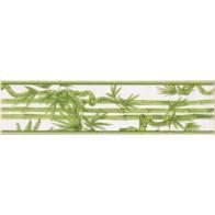 Фриз Ретро бамбук салатовый  25*6.5 1 шт.