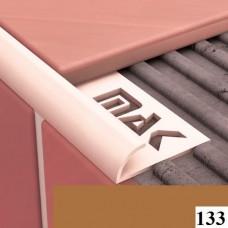 Вугли для плитки Cezar № 133 (9 мм, 2,5 м., світло-коричневий, зовнішній)