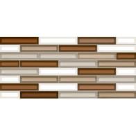 Плитка обл. Vitro коричнева 23*50 кв.м