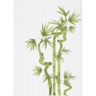 Декор Ретро бамбук 1 салатовый  25*35 1 шт.