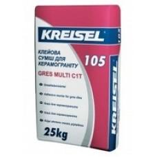 Клейова суміш для керамограніту GRES KREISEL 105 (25 кг)