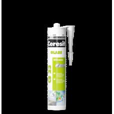 Силіконовий герметик Ceresit CS 23 Glass, для скла, 280 мл, прозорий