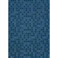 Плитка обл. Квадро синій 25*35 кв. м