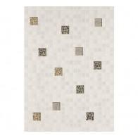 Декор Квадро мозаїка білий 25*35 1 шт.
