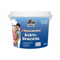 Dufa Acryl-Spachtel (Дюфа Акрил-Шпатель) Готова к использованию белоснежная финишная шпаклевка 16 кг