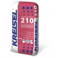 Клей для приклеювання пінопласту KREISEL 210 (25 кг)