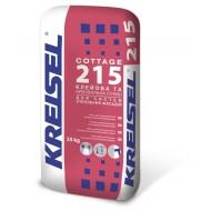 Клеевая и армирующая смесь KREISEL COTTAGE  215 (25 кг)