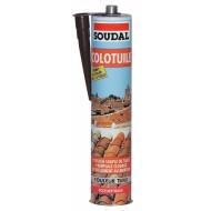 Герметик для черепиці Soudal 300 мл. теракотовий