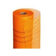 Сетка штукатурная фасадная оранжевая 160г/м2 (1м)
